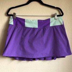 EUC lululemon Pacesetter Skirt - sz 10